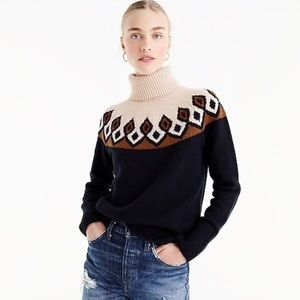 JCREW Retro Fair Isle Sweater, S